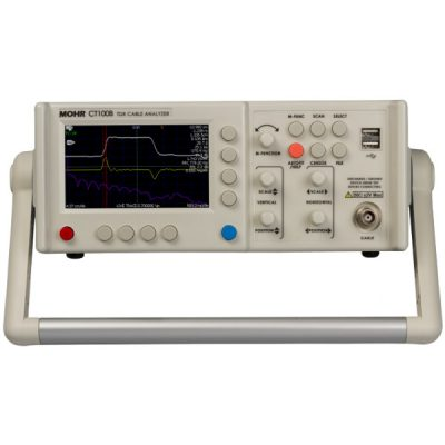 Mohr CT100B TDR analyzer