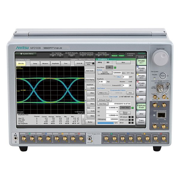 Anritsu MP2100B Bit Error Test